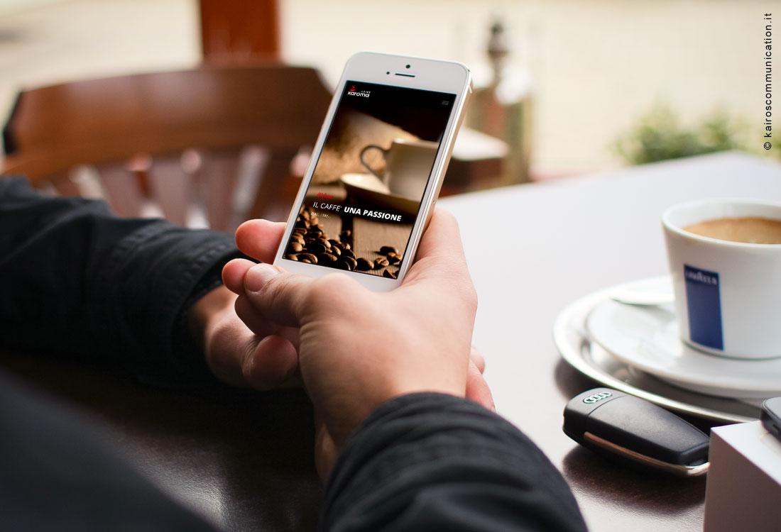 sito-web-per-caffe-karoma-mobile