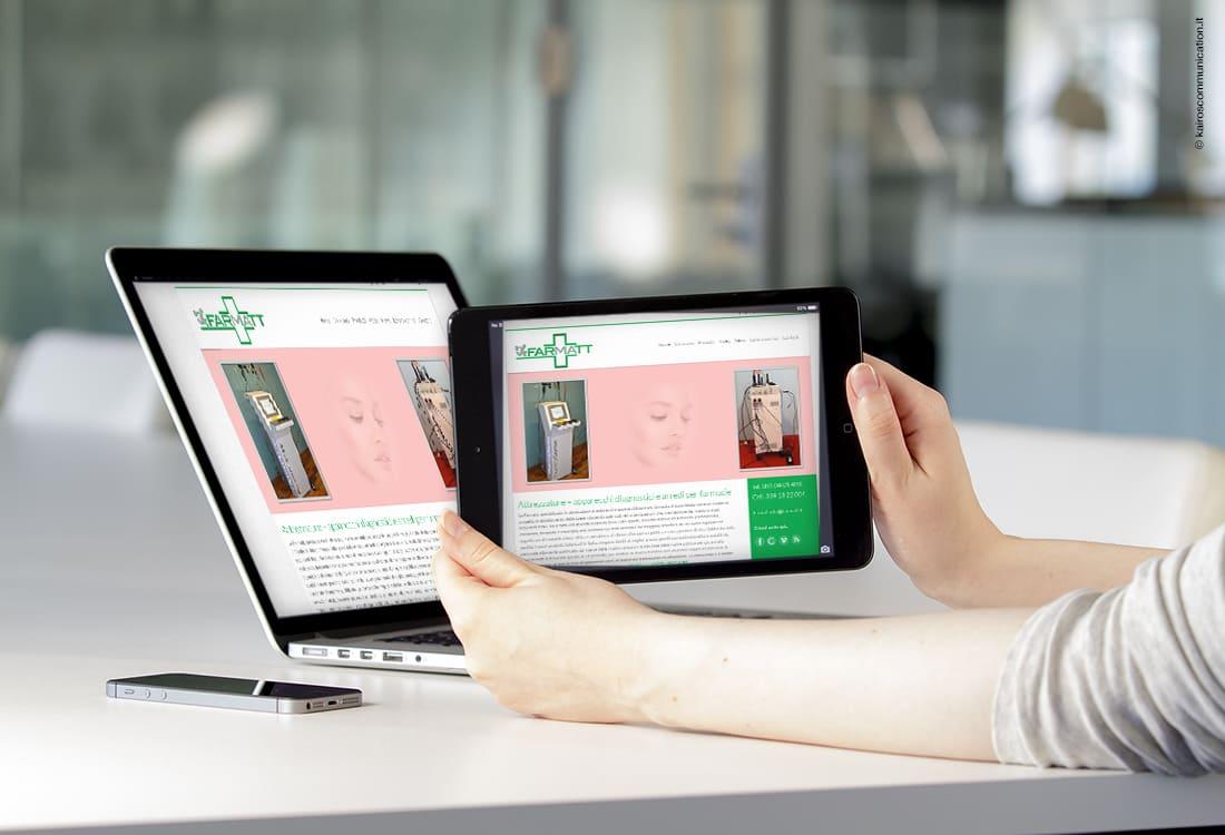 realizzazione sito web farmatt